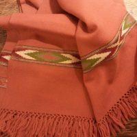 Kullu shawl rust 191648